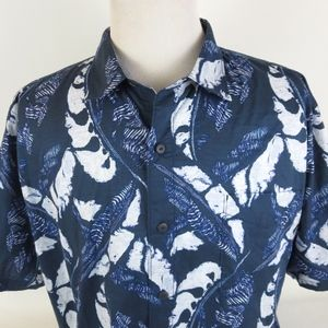 Tommy Bahama XXL LUNAR LEAVES Hawaiian Shirt S/S